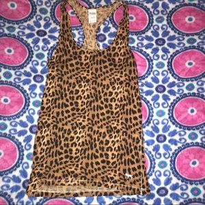 Cheetah Leopard VS PINK sleepwear tank tunic